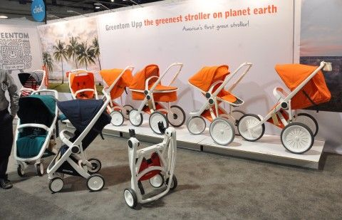 """Greentom """"the greenest stroller on planet earth"""" ABC Kids Expo 2015"""