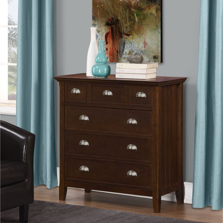 Best 25  Bedroom chest of drawers ideas on Pinterest Wyndenhall Normandy Bedroom Chest of Drawers  Tobacco Brown  Size 6 drawer. Drawers For Bedroom. Home Design Ideas