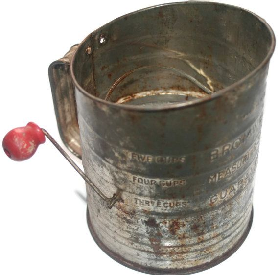Vintage Bromwell's 5 cup Measuring by VintageCastaways on Etsy