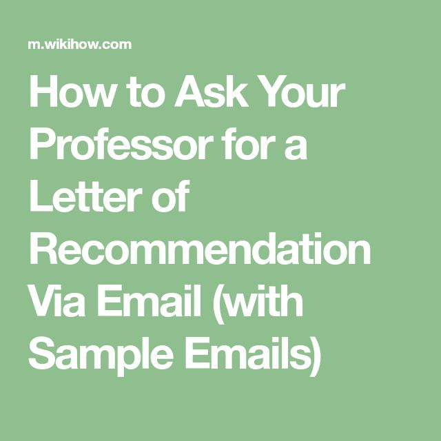 21 best letters of recommendation images on pinterest study tips ask your professor for a letter of recommendation via email spiritdancerdesigns Image collections