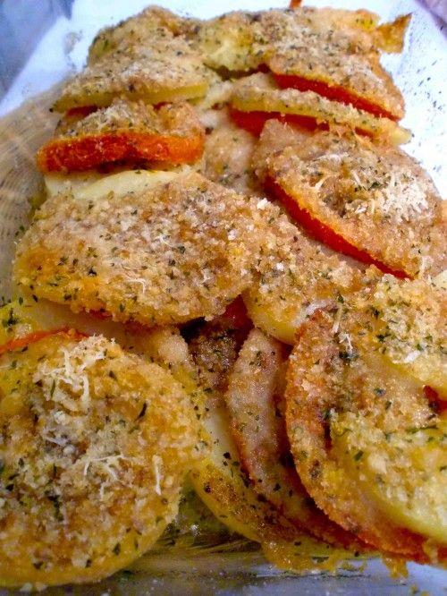 Teglia di Patate e Pomodori al Microonde