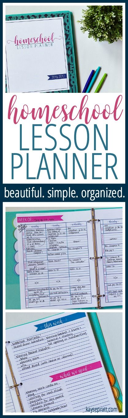 The VERY BEST homeschool planner to organize your homeschool life! Over 70 printables and free updates throughout the year! Simple, beautiful, and everything you need.