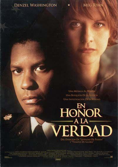 """En honor a la verdad (1996) """"Courage Under Fire"""" de Edward Zwick - tt0115956"""