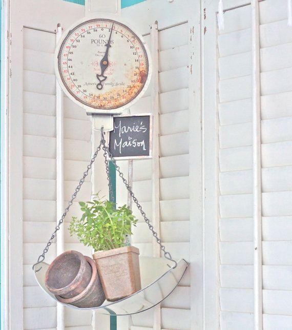 Vintage Hanging Kitchen Scale: 50 Best Dried Hydrangea Arrangements Images On Pinterest