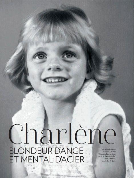 gabriellademonaco: Princess Charlene of Monaco, 3 years old… (The Royal Watcher)