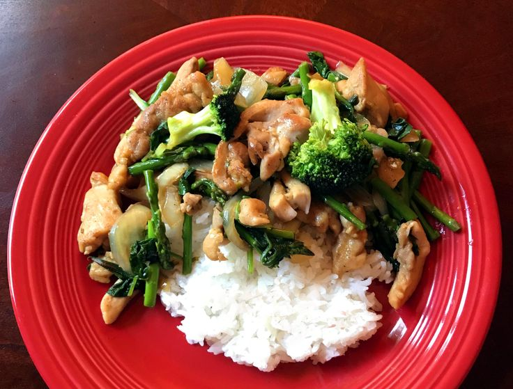 Gluten-Free Chicken, Broccoli and Asparagus Stir Fry ...