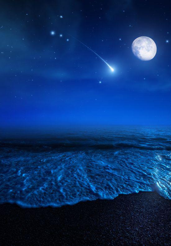 Magical Shore under moon. #moonshine #moonlight #moonpics http://www.pinterest.com/TheHitman14/moonshine-%2B/