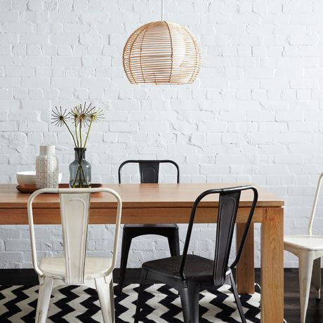 Henderson Dining Table 210cm | Freedom Furniture and Homewares