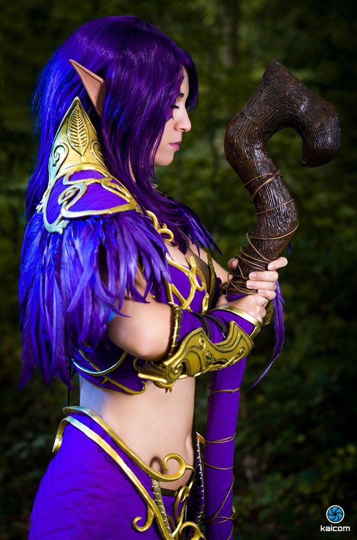 Night Elf - World of Wacraft - Meditation by MayahCosplay on deviantART