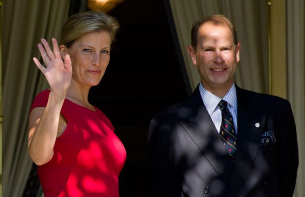 Prince Edward and Sophie, Countess of Wessex, visit Rideau Hall in Ottawa on Wednesday, September 12, 2012.