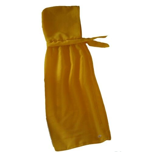 Hooded cape yellow