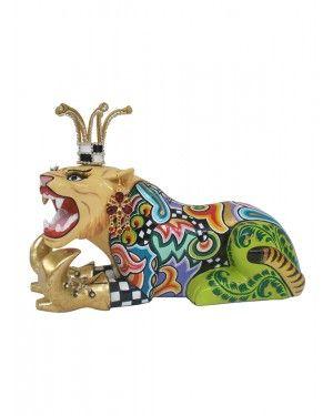 Escultura Tigre Khan - Thomas Hoffman #tomsdrag #thomashoffman #decoracao #escultura #amandapresentes #tigre #khan