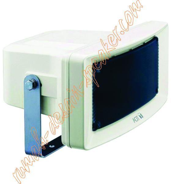 TOA Wide Horn Speaker ZS-154, Daya 15 Watt Horn terbuat dari plastik, speaker yang dinamis mengeluarkan kualitas suara yang jelas, terdapat rotary switch untuk memudahkan merubah impedansi. Penggunaan diluar ruangan (outdoor), pemasangan cocok pada lorong/selasar, parkiran dlln.  Specifications Rated Input : 15 W Rated Impedance : 100 V line: 670 (15 W) 70 V line : 330 (15 W) Sensitivity : 97 dB (1 W Frequency Response : 150 - 15 Speaker Component : 12 cm cone-type Horizontal Directivity…