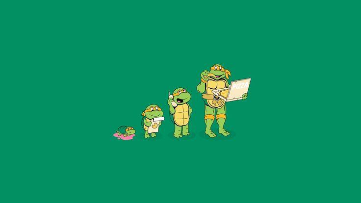 Michelangelo Teenage Mutant Ninja Turtles Wallpapers - http://hdwallpapersf.com/michelangelo-teenage-mutant-ninja-turtles-wallpapers