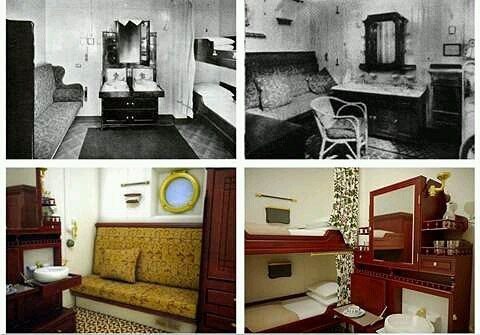 Second Class Accommodations Rms Titanic Second Class