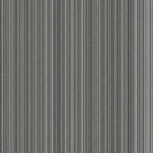 Details about silver grey black stria stripe wallpaper for Silver grey walls