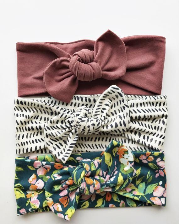 Okay, das sind meine Favoriten – Set: Baby-Haarknoten-Stirnbänder – Baby Headbands