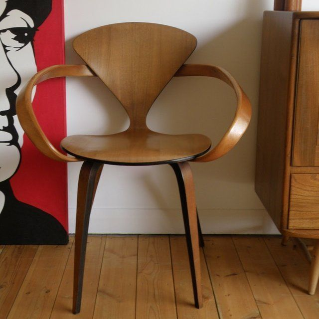 i the pretzel chair the current object of my affection the norman cherner pretzel chair