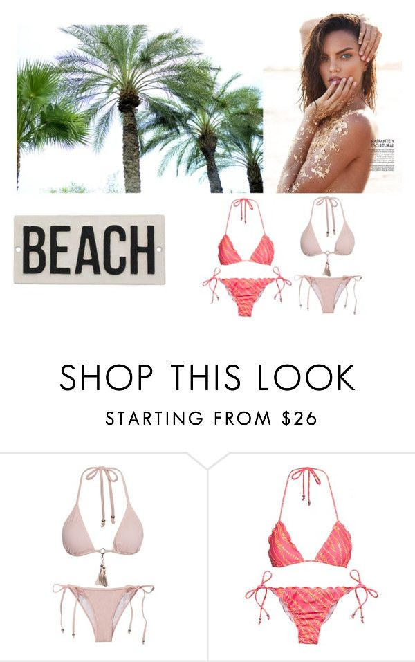 """""""Beach mood"""" by emmavestphael on Polyvore featuring HomArt"""