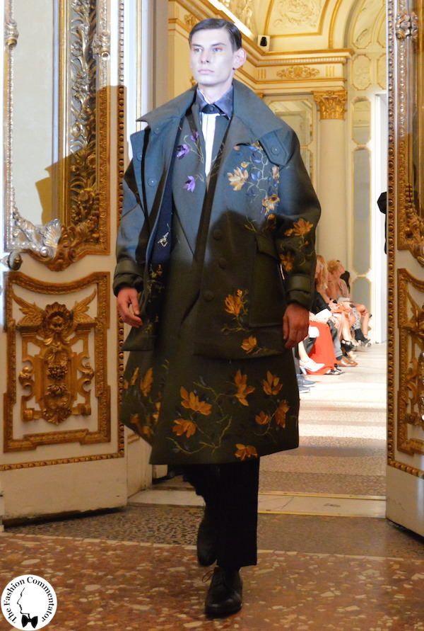 Polimoda Show 2015 || i meravigliosi intarsi floreali dei cacciatori-poeti di Matilde Gennari