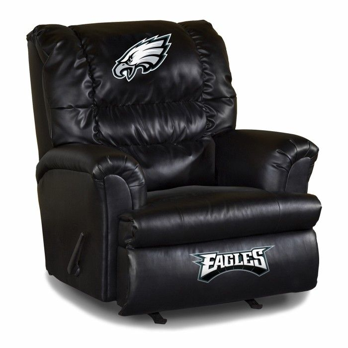 Philadelphia Eagles NFL Big Daddy Leather Recliner Chair/Furniture