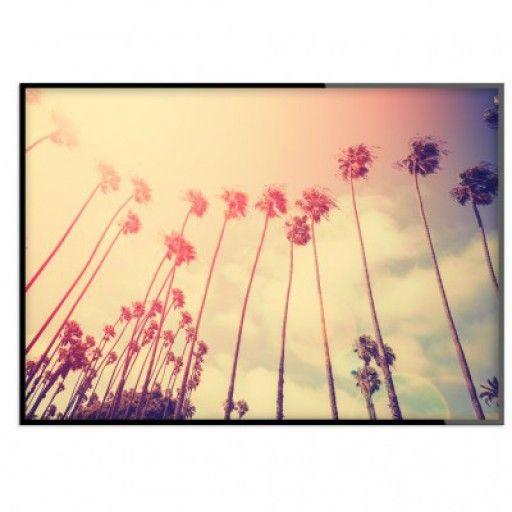 """Retro palms"" - Poster"