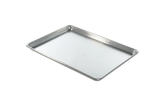 If you're in the market for a sturdy cookie sheet, the Nordic Ware Naturals Baker's Half Sheet ($11) is the best one for baking all kinds of cookies. This r