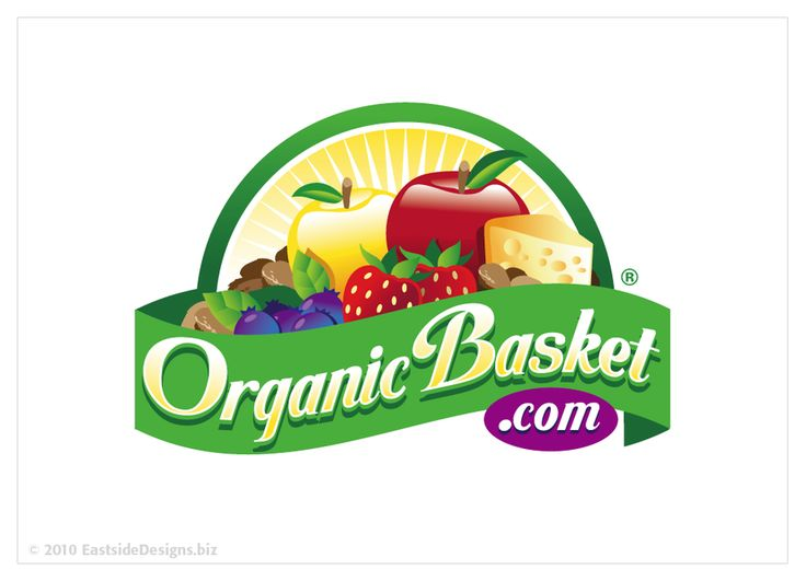 Looking for a logo for an Organic Gift Basket company!! by EastSideDesigns.biz