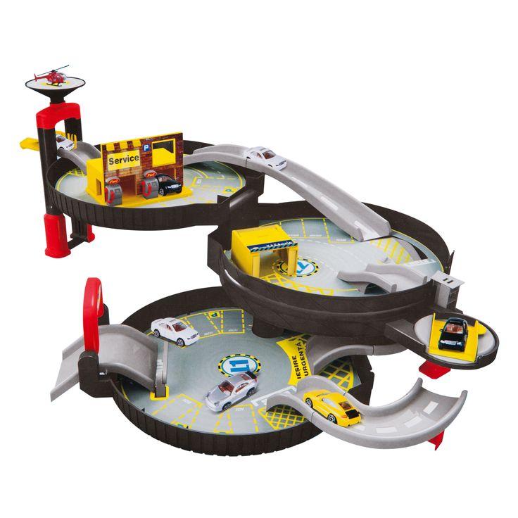 Noriel Kids - Set de masinute cu pista, jucarii Noriel ieftine de Craciun