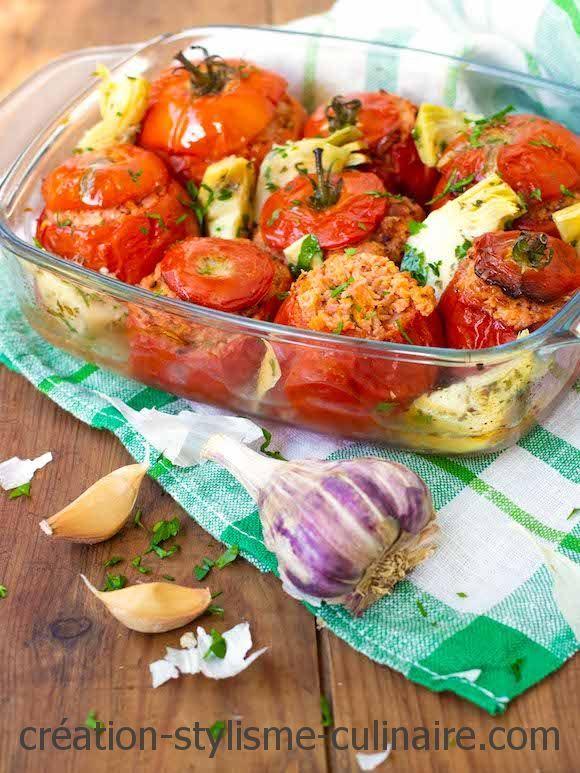 Tomates Farcies Au Jambon Plus Legeres Que Les Tomates Farcies