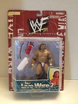 (TAS012564) - WWF WWE Vintage Wrestling Figure - Jakks Live Wire 2 - Val Venis