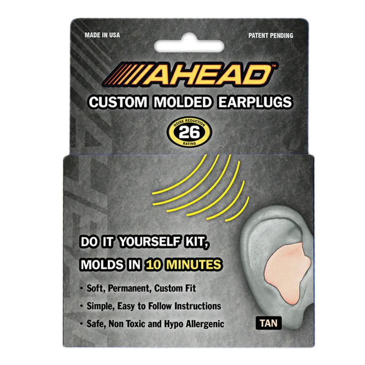 Ahead Tan Custom Molded Ear Plugs (ACME)