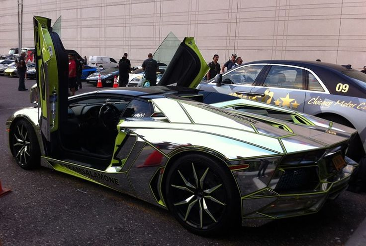 Aventador | Lamborghini - Gold, Silver & Chrome ...