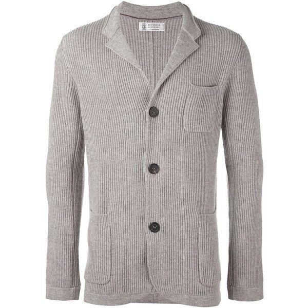 Brunello Cucinelli cashmere 'Fili' cardigan ($2,695) ❤ liked on Polyvore featuring men's fashion, men's clothing, men's sweaters, brown, mens cashmere cardigan sweater, mens cashmere sweaters, mens brown cardigan sweater, mens brown sweater and mens cardigan sweaters
