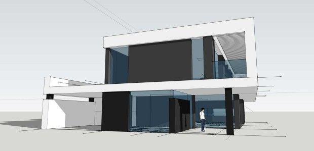 Budynek mieszkalny jednorodzinny D_07   K. S. ARCHITEKCI   Kinga Brix-Grobelna • Seweryn Grobelny
