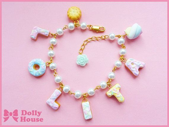 Lolita Sweets Bracelet by Dolly House by SweetDollyHouse on Etsy, $23.80
