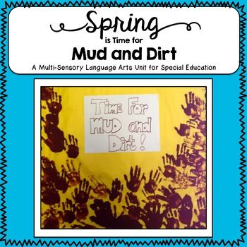 This special education unit is fun for an Open House bulletin board! Kids need to play in the mud and dirt, but I discovered that several of my special needs students never get dirty! My diverse darlings may be on the autism spectrum, have emotional disorders, live in low-income apartments with no yards and mamas who keep them spic and span, or