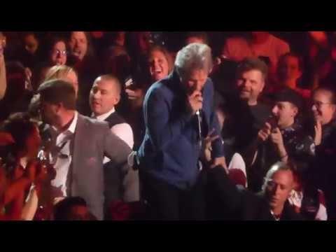 """Bon Jovi """" Bed Of Roses """" Live 3/17/2018 T-Mobile Arena Las Vegas"""