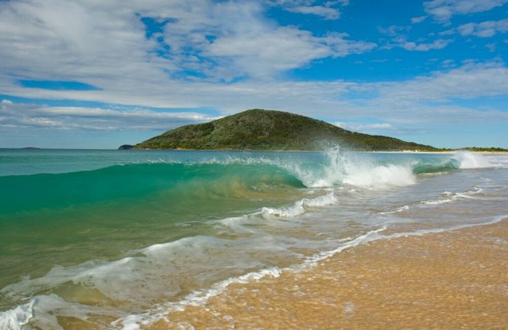 1000 Waves at Shoal Bay Beach Port Stephens