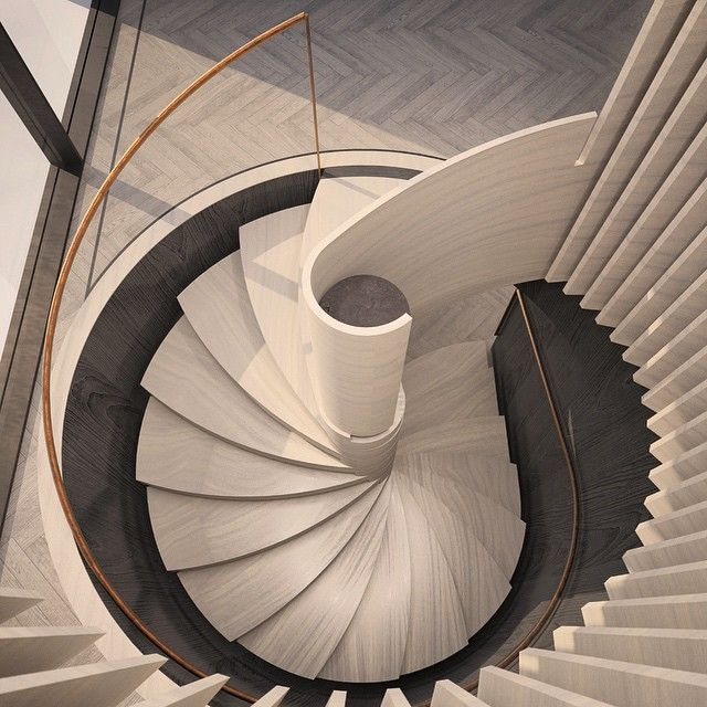 This is the new stair for the wonderful 850m2 Pommeroy Penthouse. Inspired by…