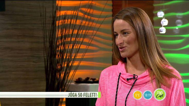 Könnyített jógagyakorlatok 50 év felett! - 2015.10.26. - tv2.hu/fem3cafe