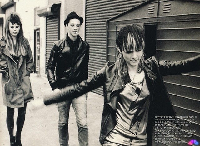 HYSTERIC GLAMOUR S/S 2010 IN huge MAGAZINE