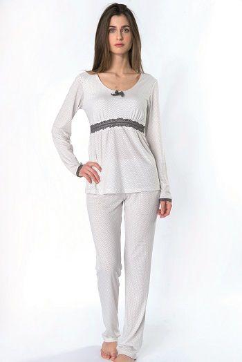 Pijama Invierno mujer modelo Moon de la firma Egatex. http://www.perfumeriaelajuar.com/homewear/pijama-mujer-invierno-/30/                                                                                                                                                      Más