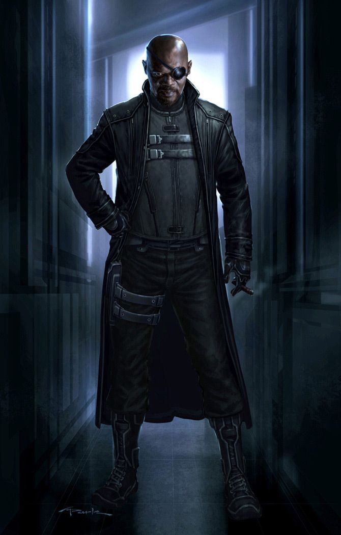 The Avengers- Nick Fury 01 by andyparkart on deviantART