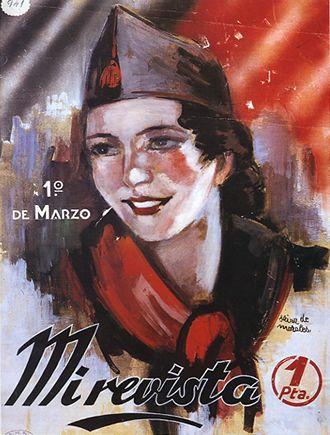 Spain - 1936. - GC - A Republicans women's magazine