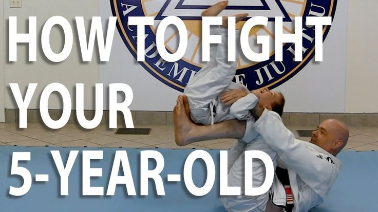 How to Play Jiu-Jitsu With Your Kids Part 8: How to Fight Your 5 Year Old