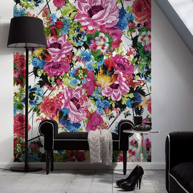 Add A Pop Of Color To Any Room With A Wall Mural Diy