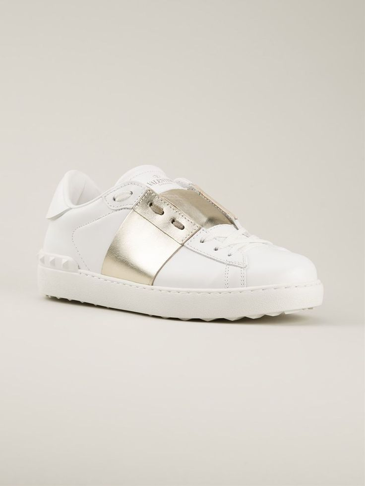 Valentino Garavani 'low Top Open' Sneakers - Hirshleifers - Farfetch.com