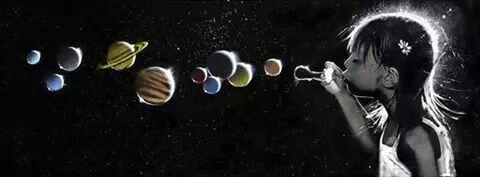Mundos diferentes con solo soplar una burbuja!
