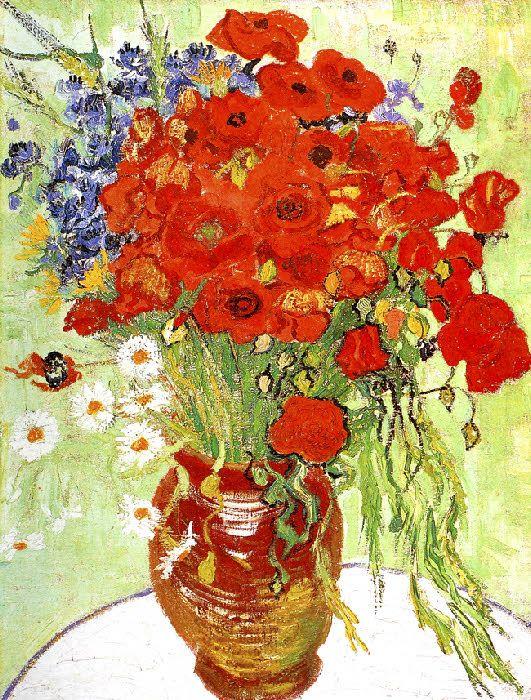Vincent Van Gogh - Post Impressionism - Auvers - Coquelicots - 1890
